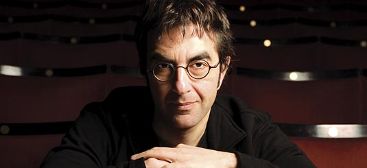 The expression I imagine Egoyan was wearing after we got cut off for the second time